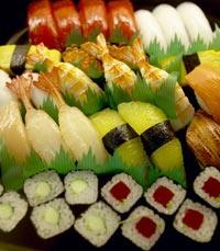סושי רול, אטריות קיוטו, סושי וסשימי