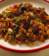 אורז מטוגן, מאודה ובנוסף תאילנדי