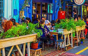 מסעדות בשוק הפשפשים