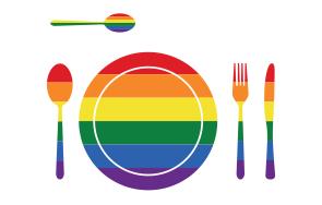 מצעד הגאווה, אוכל ומה שבניהם