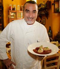 השף שאול בן אדרת ממסעדת קימל