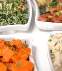 מסעדת האקליפטוס - מגוון מעניין מאד של סלטים טריים