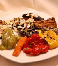 מגוון מעדנים מיוחדים - מסעדת אחוזת שולמית ראש פינה