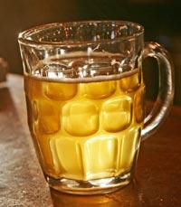 בירה צוננת בברים