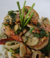 בשר, דגים ופירות ים במסעדת נחלים
