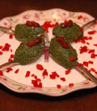 ראצ'ה - מרבים להשתמש ברימון - ממאכלי ראש השנה