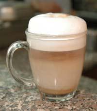 קפה חם בבוקר