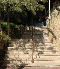 המדרגות לעבר ברקפסט - שואבה