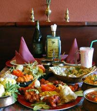 חנוכה הודי במסעדת אינדירה