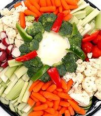 פיקניק בריא עם הרבה ירקות