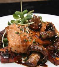 מאכלי דגים וחלב במסעדת בין הקשתות