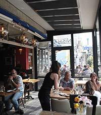 בר-מסעדה נישה 166 בתל אביב