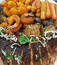 דגים ופירות ים טריים באבו מהראן