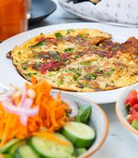ארוחת בוקר בקפה ליון ירושלים