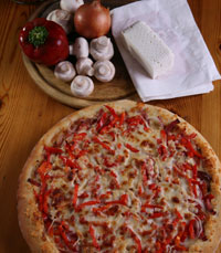 פיצה נפלאה בפיצה קרוזו