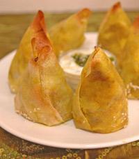 הסמוסה של מסעדת גנדי ירושלים