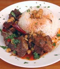אוכל ביתי במסעדת הפינג'אן הירושלמית