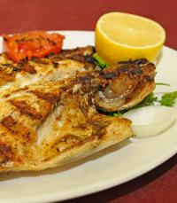 גם דגים במסעדת אבו חאלד הרצליה