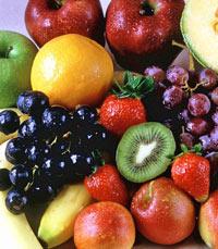 פירות במהלך היום