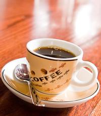 קפה משובח, כריך סלמון, פלטת אנטיפסטי