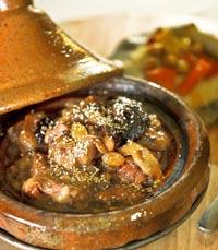 תבשילי טאג'ין במסעדת דארנא