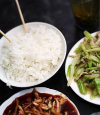 עסקית צהריים במסעדת טריאקי
