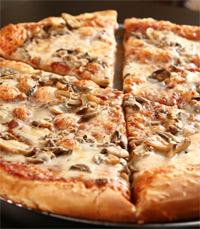 חמה ומבעבעת - פיצה
