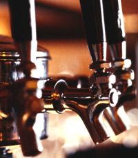 ברזי הבירה של דבלין מטופלים היטב