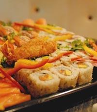 דגים ופירות ים בבר-מסעדה ים 7 הרצליה