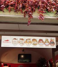 מסעדות בטוסקנה - חנות פלפלים בוולטרה