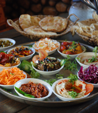 אוכל ישראלי טעים בהכנה עצמית - הצ'אנס האחרון ים המלח
