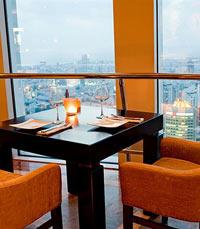 טו סי - מסעדה רומנטית על גג העולם