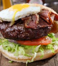 המבורגר - מגדילים בקפיצות של 100 גר'