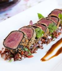 בשר ויין במסעדת אדום בירושלים