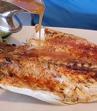 גולת הכותרת - דג דניס בגריל