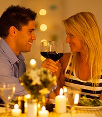 """ארוחה רומנטית בט""""ו באב"""