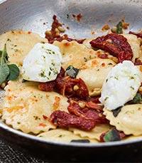 מטבח איטלקי עשיר בטעמים
