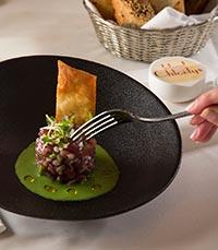 תפריט בהשראת המטבח הצרפתי