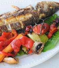 דגים ופירות ים באווירה טובה