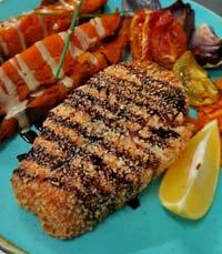 ארוחה מלאה בצבעים, ניחוחות וטעמים