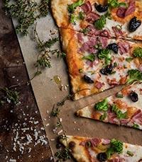 פיצה מתפריט איטליה
