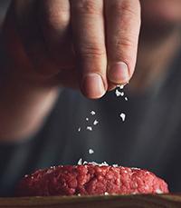 קציצת המבורגר