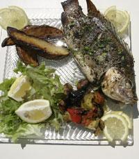 הדג נעשה במחבט ברזל לוהטת