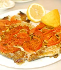 אוכל ביתי במסעדת האגם השקט, אור יהודה