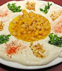 והחומוס של מסעדת אבו חאלד הרצליה