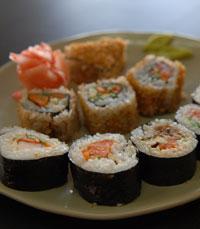 סושי כמו באוסקה במסעדת אוסקה הירושלמית