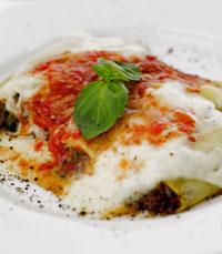 מגוון פסטות במסעדת לורן עפולה