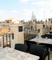 מסעדות אל מול נוף הגלבוע
