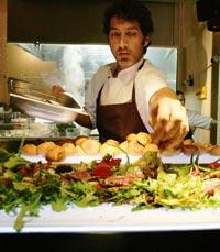 השף אלדד שם טוב למסעדת שקוף תל אביב