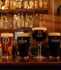 ברזי הבירה מטופלים היטב - דבלין ירושלים
